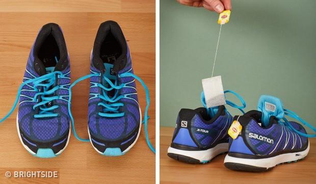 Cần ghi nhớ 13 mẹo làm sạch để giày lúc nào trông cũng như mới tinh như vừa mua - Ảnh 14.