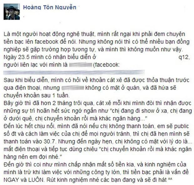 Những góc khuất của sao Việt sau ánh hào quang sân khấu: Người bị sàm sỡ, ném đồ khi biểu diễn; kẻ bị gạ tình, lật lọng cát-xê - Ảnh 23.