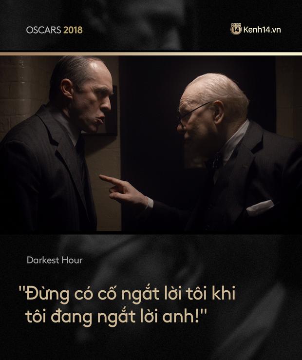 Nhìn lại Oscar 2018 qua những câu thoại phim làm trái tim khán giả thổn thức - Ảnh 5.