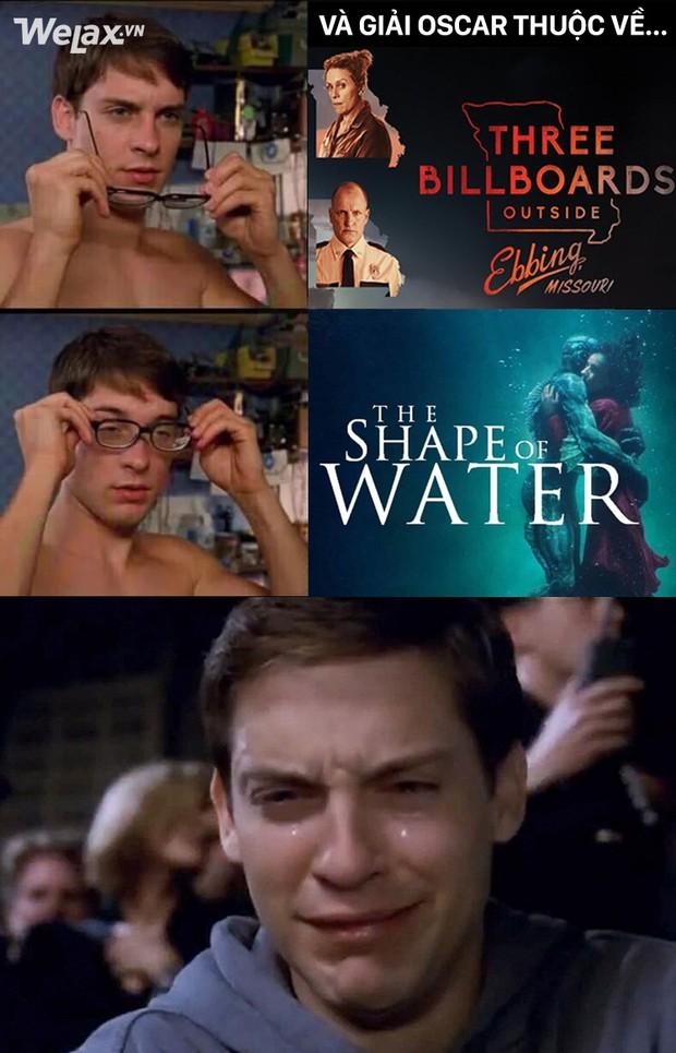 Loạt ảnh chế thay lời muốn nói sự bất mãn khi The Shape of Water đại thắng tại Oscar 2018 - Ảnh 3.