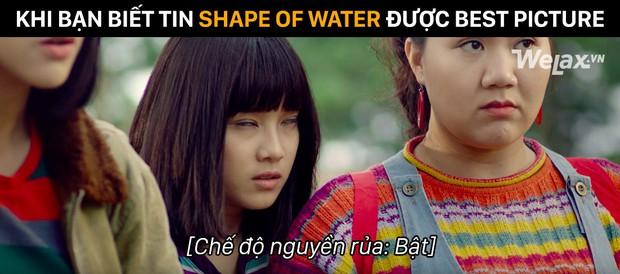 Loạt ảnh chế thay lời muốn nói sự bất mãn khi The Shape of Water đại thắng tại Oscar 2018 - Ảnh 4.