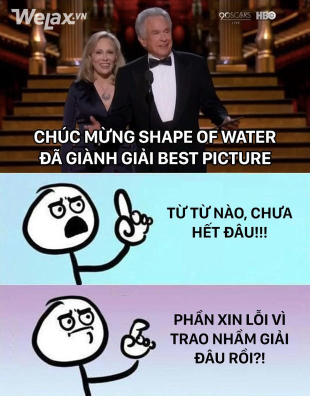 Loạt ảnh chế thay lời muốn nói sự bất mãn khi The Shape of Water đại thắng tại Oscar 2018 - Ảnh 5.