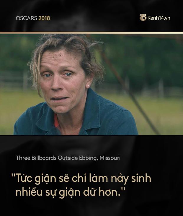 Nhìn lại Oscar 2018 qua những câu thoại phim làm trái tim khán giả thổn thức - Ảnh 11.