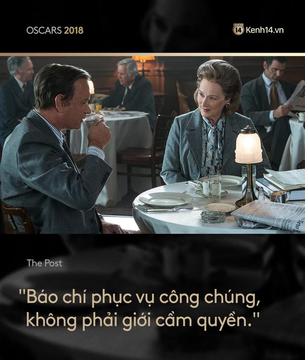 Nhìn lại Oscar 2018 qua những câu thoại phim làm trái tim khán giả thổn thức - Ảnh 13.