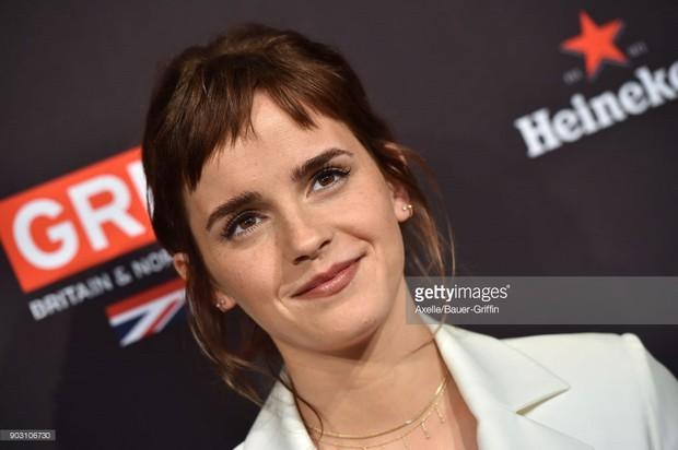 Emma Watson gây tiếc nuối vì nhan sắc xuống dốc không phanh tại tiệc hậu Oscar 2018 - Ảnh 9.