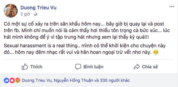 Những góc khuất của sao Việt sau ánh hào quang sân khấu: Người bị sàm sỡ, ném đồ khi biểu diễn; kẻ bị gạ tình, lật lọng cát-xê - Ảnh 5.