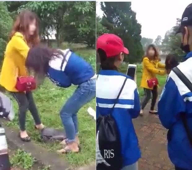 Khởi tố vụ hai chị em lột áo đánh ghen nữ sinh lớp 11 - Ảnh 1.