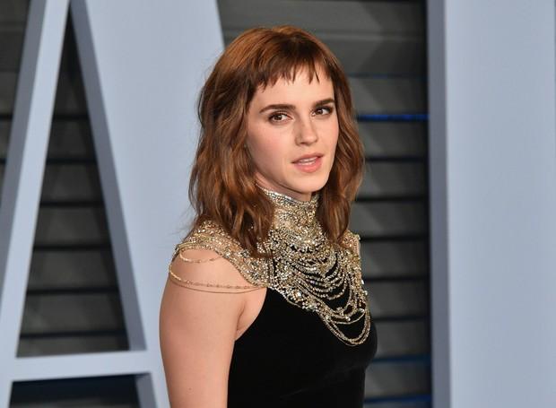 Emma Watson gây tiếc nuối vì nhan sắc xuống dốc không phanh tại tiệc hậu Oscar 2018 - Ảnh 1.