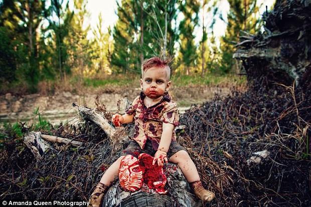 Tổ chức sinh nhật cho con theo chủ đề zombie ăn não, người mẹ trẻ bị ném đá dữ dội dù chưa ai biết nguyên do thực sự - Ảnh 1.