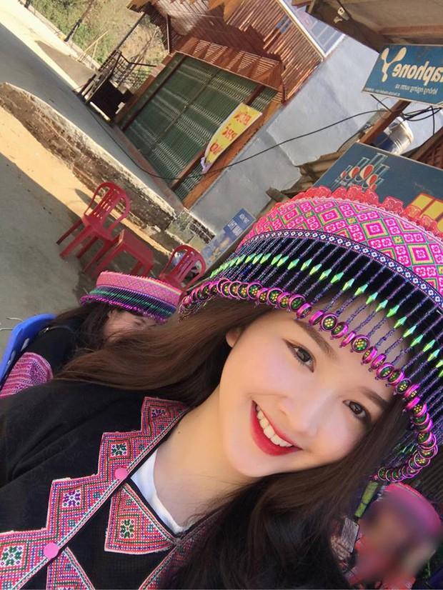 Cô gái dân tộc với nụ cười siêu xinh này đang được xin link nhiều nhất Facebook - Ảnh 3.