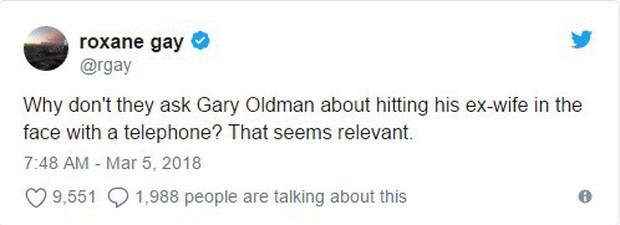 Tượng vàng Oscar còn chưa ấm tay, Gary Oldman bị nhắc lại chuyện hành hung vợ trong quá khứ - Ảnh 2.