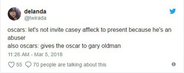 Tượng vàng Oscar còn chưa ấm tay, Gary Oldman bị nhắc lại chuyện hành hung vợ trong quá khứ - Ảnh 3.
