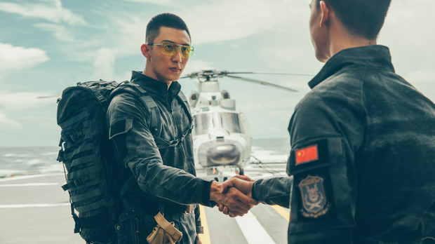 Cố Hải Hoàng Cảnh Du tái xuất uy dũng trong trailer Điệp Vụ Biển Đỏ - Ảnh 3.