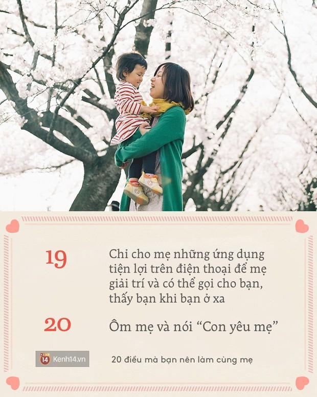 Hôm nay là 8/3, có đến 20 điều để bạn thực hiện ngay cùng mẹ! - Ảnh 16.