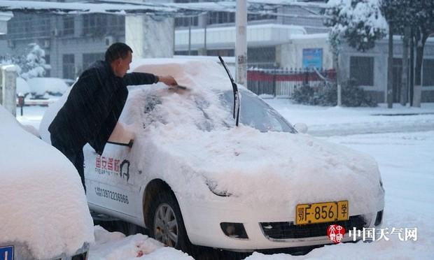 Việt Nam đón giá rét, Trung Quốc cũng gồng mình trước thời tiết lạnh kỷ lục trong lịch sử nước này - Ảnh 5.