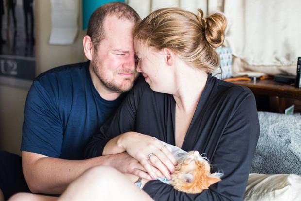 Cặp vợ chồng trẻ gây bão mạng xã hội vì bộ ảnh hạ sinh ra mèo - Ảnh 11.