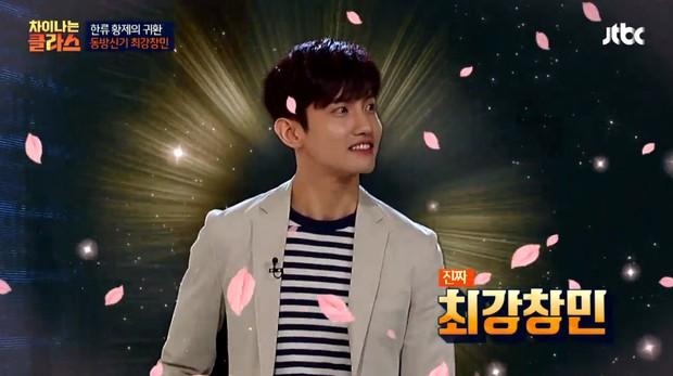 Bản sao Taeyeon phấn khích khi được gặp thần tượng Changmin (DBSK) - Ảnh 1.