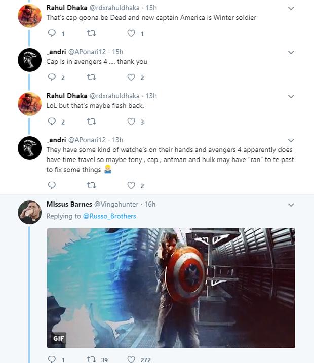 Đạo diễn Infinity War đổi ảnh đại diện, fan Captain America đồng loạt khóc thét - Ảnh 6.