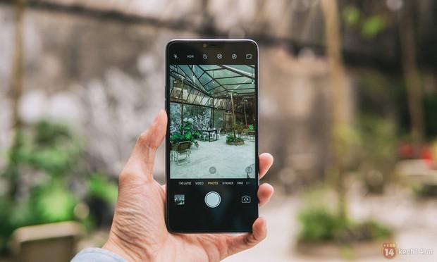 Mở hộp OPPO F7 màu bạc lấp lánh: Selfie bằng AI cực đẹp, màn hình FullView kèm tai thỏ như iPhone X - Ảnh 17.