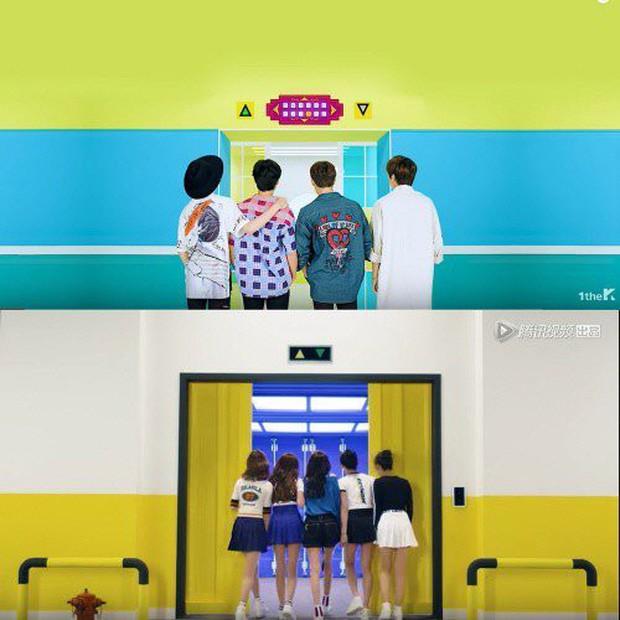 Vừa tung clip nhá hàng, Produce 101 Trung Quốc liền bị tố đạo nhái nhóm nhạc Hàn Quốc - Ảnh 2.