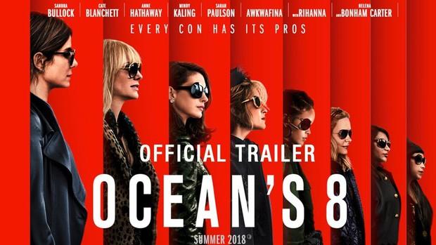 Rihanna làm hacker ngầu lòi trong hội đạo chích toàn mỹ nhân Oceans 8 - Ảnh 1.