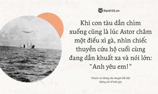 106 năm trôi qua từ ngày tàu Titanic chìm xuống, những câu chuyện về tình yêu và tình người vẫn khiến người người thổn thức - Ảnh 6.