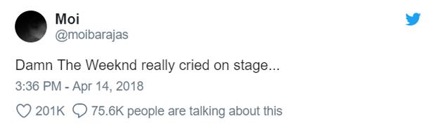 The Weeknd có thực sự khóc khi biểu diễn hit về Selena Gomez tại Coachella? - Ảnh 5.