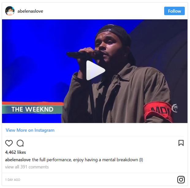 The Weeknd có thực sự khóc khi biểu diễn hit về Selena Gomez tại Coachella? - Ảnh 6.