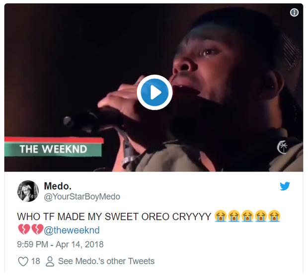 The Weeknd có thực sự khóc khi biểu diễn hit về Selena Gomez tại Coachella? - Ảnh 7.