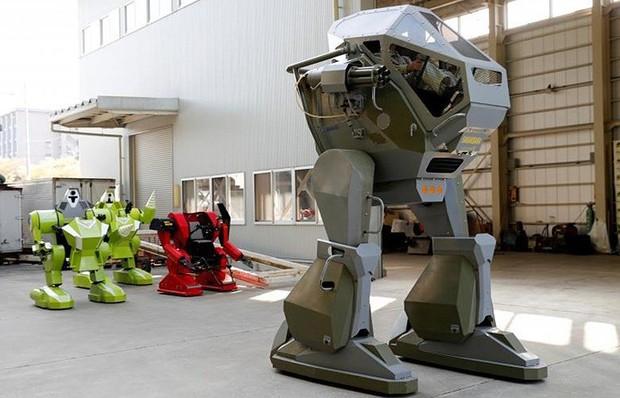 Kỹ sư người Nhật biến giấc mơ robot khổng lồ thành hiện thực - Ảnh 16.