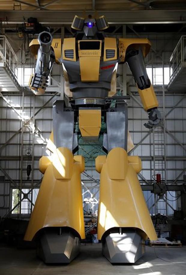 Kỹ sư người Nhật biến giấc mơ robot khổng lồ thành hiện thực - Ảnh 5.