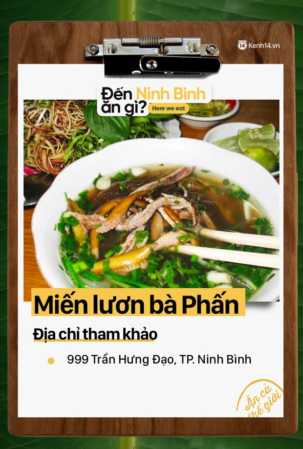 Không chỉ có nhiều cảnh đẹp, Ninh Bình còn rất nhiều món ăn ngon mà bạn cần khám phá - Ảnh 17.