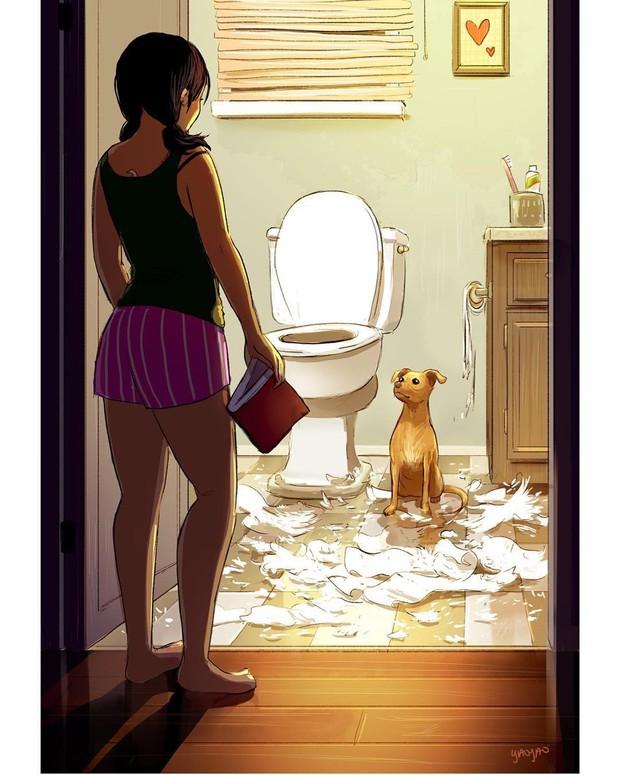 Bộ ảnh: Đôi khi điều bạn cần để có cuộc sống hạnh phúc chẳng phải điều gì cao sang mà chỉ là một chú chó - Ảnh 5.