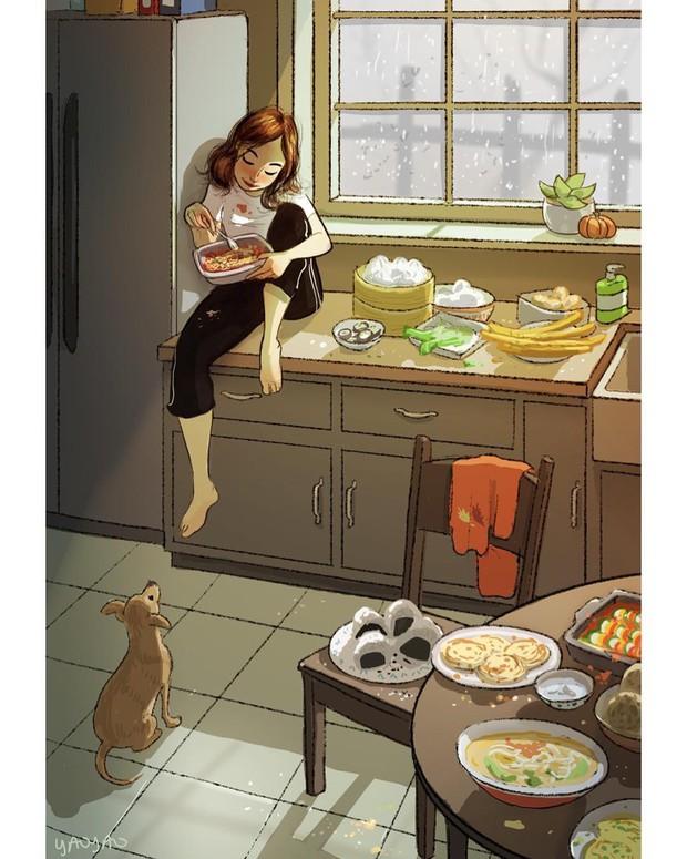 Bộ ảnh: Đôi khi điều bạn cần để có cuộc sống hạnh phúc chẳng phải điều gì cao sang mà chỉ là một chú chó - Ảnh 6.