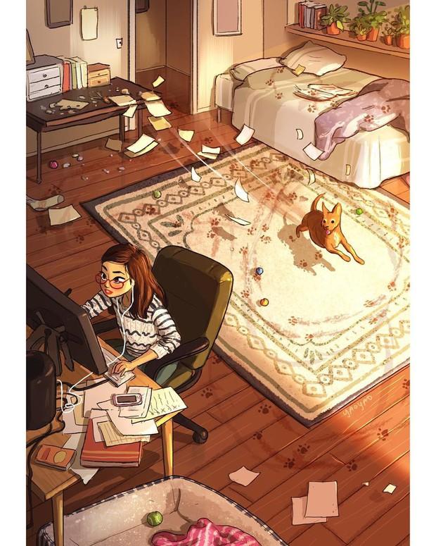 Bộ ảnh: Đôi khi điều bạn cần để có cuộc sống hạnh phúc chẳng phải điều gì cao sang mà chỉ là một chú chó - Ảnh 8.