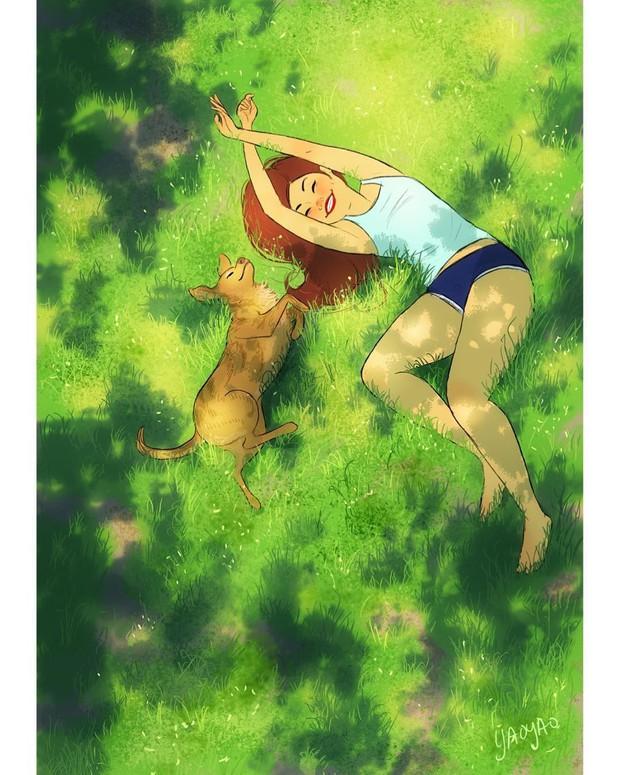 Bộ ảnh: Đôi khi điều bạn cần để có cuộc sống hạnh phúc chẳng phải điều gì cao sang mà chỉ là một chú chó - Ảnh 15.