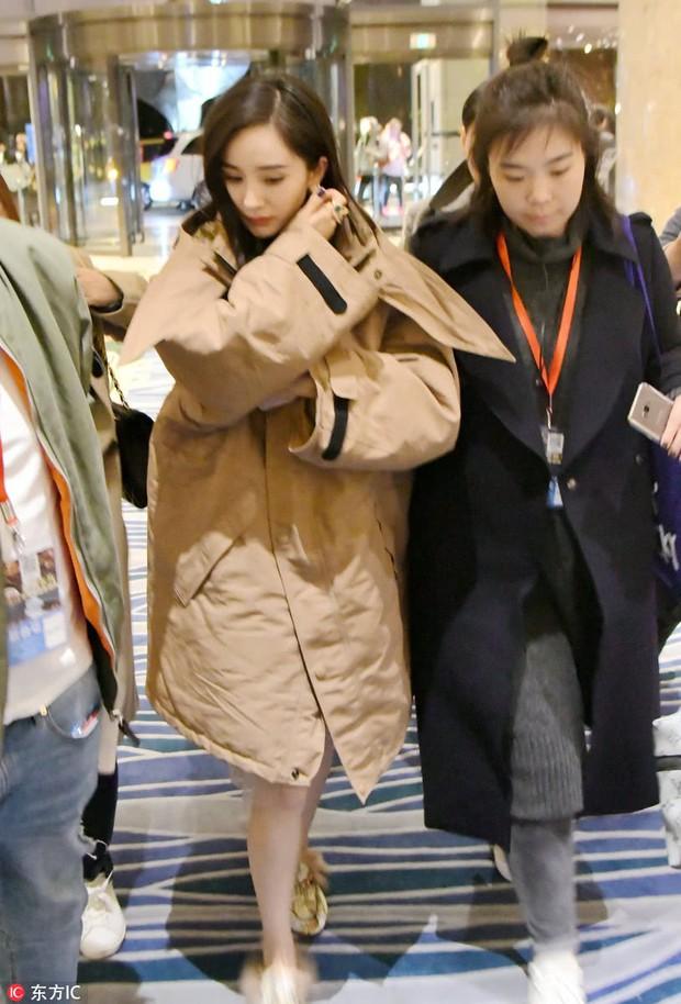 Sự thật về loạt ảnh khoa trương, đeo trang sức đắt tiền của Dương Mịch khi lần đầu xuất hiện sau scandal quỵt tiền - Ảnh 4.