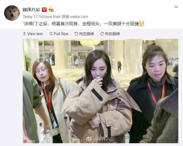Sự thật về loạt ảnh khoa trương, đeo trang sức đắt tiền của Dương Mịch khi lần đầu xuất hiện sau scandal quỵt tiền - Ảnh 1.