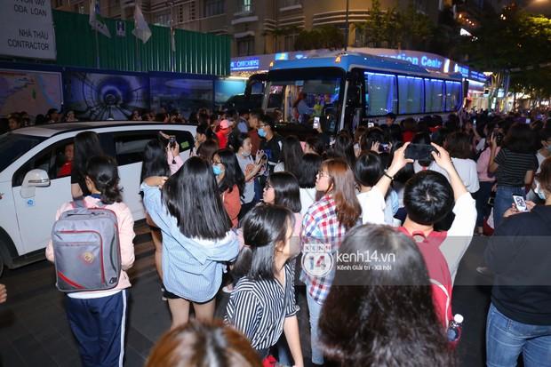 Fan bị tụt đường huyết, òa khóc khi gặp hoàng tử lai Samuel trên phố đi bộ Nguyễn Huệ - Ảnh 12.