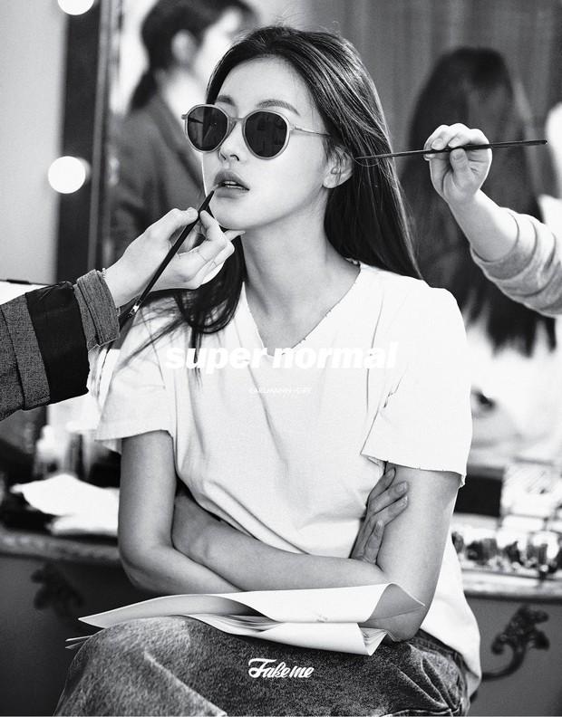 Bạn gái Kim Bum lần đầu lộ diện sau tin hẹn hò: Nhan sắc không đùa được đâu trong loạt ảnh hậu trường - Ảnh 4.