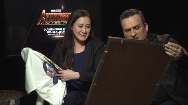 Thay mặt fan Marvel tại Việt Nam, Bảo Anh hỏi khó ê kíp làm phim Avengers: Infinity War - Ảnh 4.