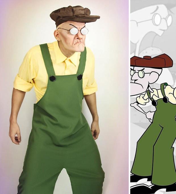 Sống lại tuổi thơ cùng chàng cosplayer người Mỹ với các nhân vật hoạt hình huyền thoại, bạn nhận ra được những ai? - Ảnh 3.
