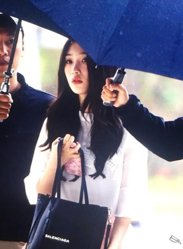 Cực phẩm dưới mưa: Jung Chae Yeon đẹp lộng lẫy cùng I.O.I, dàn hoàng tử Wanna One đến ủng hộ Produce 48 - Ảnh 21.