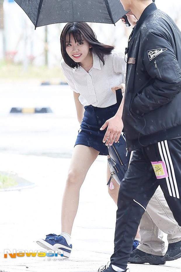 Cực phẩm dưới mưa: Jung Chae Yeon đẹp lộng lẫy cùng I.O.I, dàn hoàng tử Wanna One đến ủng hộ Produce 48 - Ảnh 34.