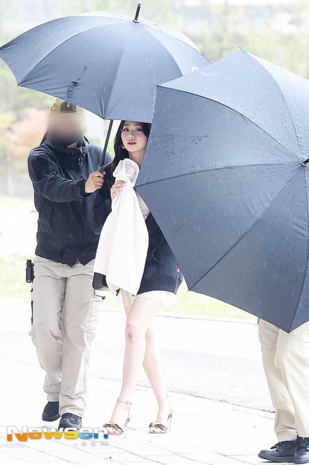 Cực phẩm dưới mưa: Jung Chae Yeon đẹp lộng lẫy cùng I.O.I, dàn hoàng tử Wanna One đến ủng hộ Produce 48 - Ảnh 27.