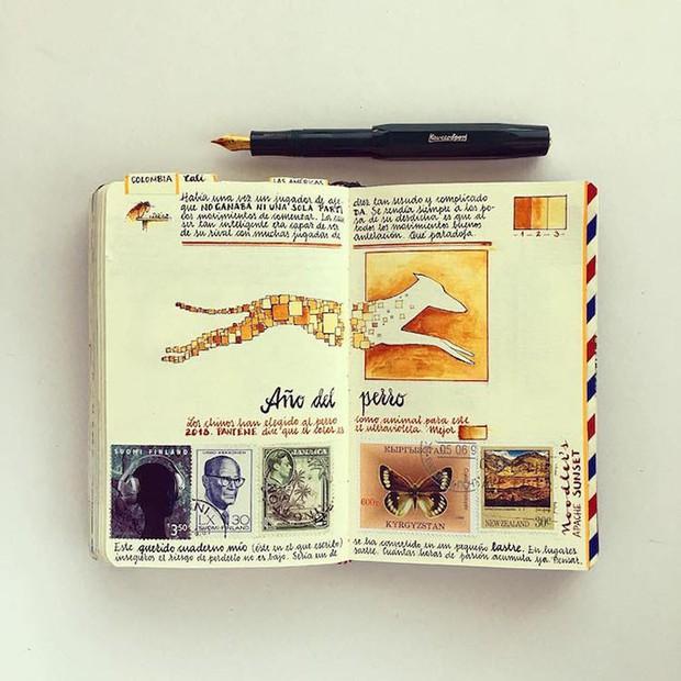 Chàng trai từ bỏ công việc, đi chu du khắp thế giới để tạo nên những kiệt tác sổ tay du lịch mà ai cũng ao ước - Ảnh 7.