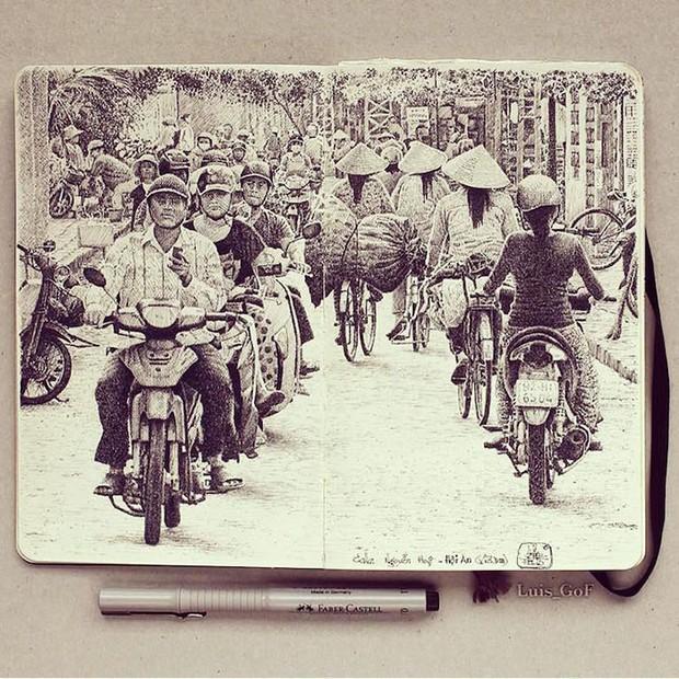 Chàng trai từ bỏ công việc, đi chu du khắp thế giới để tạo nên những kiệt tác sổ tay du lịch mà ai cũng ao ước - Ảnh 4.