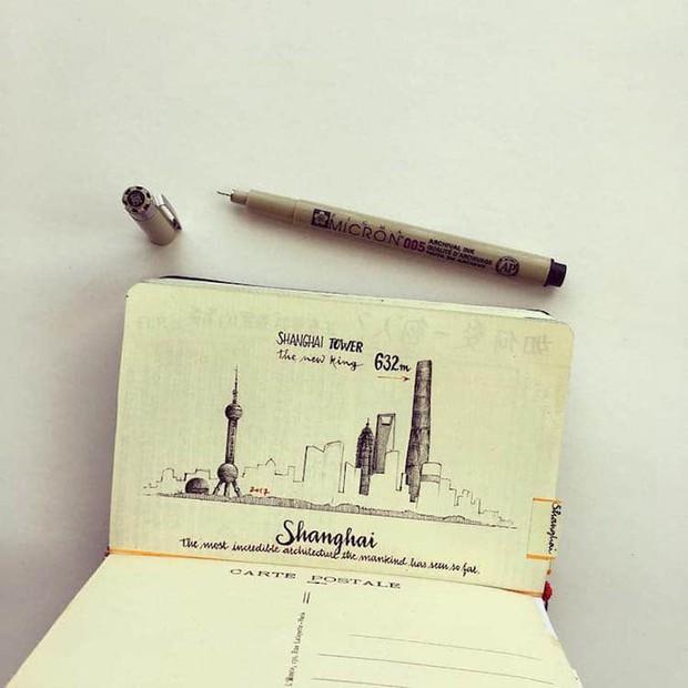 Chàng trai từ bỏ công việc, đi chu du khắp thế giới để tạo nên những kiệt tác sổ tay du lịch mà ai cũng ao ước - Ảnh 5.