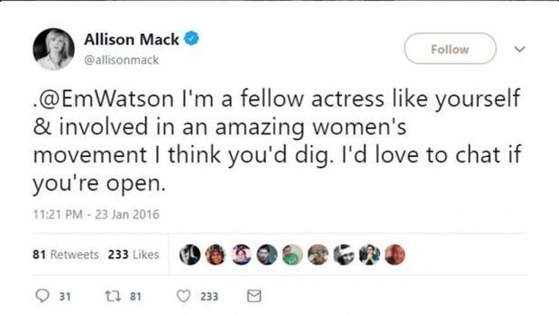 Emma Watson bị gạ gẫm tham gia hội kín buôn bán nô lệ tình dục - Ảnh 2.