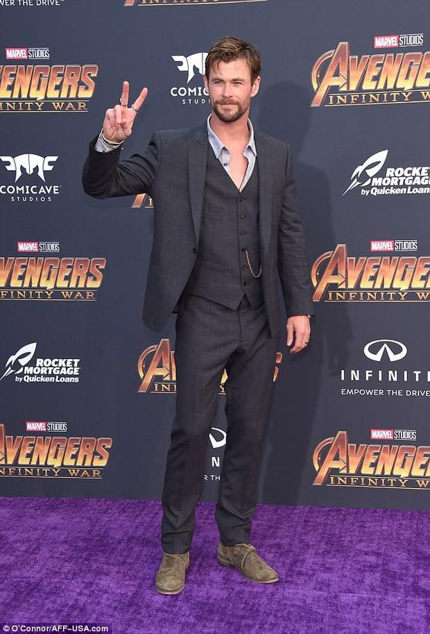 Thảm tím Avengers: Loạt siêu sao quy tụ hoành tráng như lễ trao giải Oscar, nhưng thiếu 1 người quan trọng! - Ảnh 5.